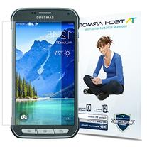 Galaxy S5 Active Screen Protector, Tech Armor Anti-Glare/