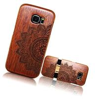 Samsung Galaxy S7 Wooden Case,T-Young Natural Wood Bamboo