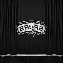 NBA San Antonio Spurs Not Applicabe, black, 72 x 72
