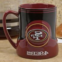 NFL San Francisco 49ers 20oz. Game Time Mug