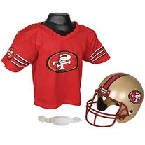 San Francisco 49ers Kid's Jersey & Helmet Set One Size Fits