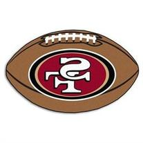 San Francisco 49ers NFL Ball Rug 22x35