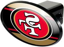 San Francisco 49ers Oval Trailer Hitch Cover