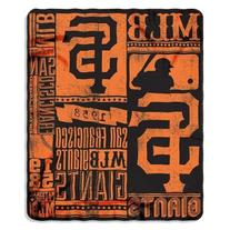 MLB San Francisco Giants Strength Printed Fleece Throw, 50-