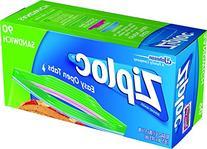 Ziploc Sandwich Bags, 90 ea