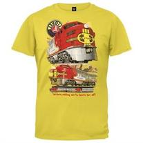 Lionel Trains - Santa Fe Youth T-Shirt - Youth L