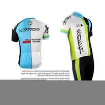 Santic Cycling Men Breathable Suits Short Sleeve Sets
