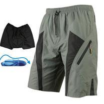 Santic Mens Mountain Loose-fit Biking Shorts Padded Coolmax