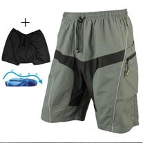 Santic Men Padded Coolmax Loose Fit Cycling Casual Short
