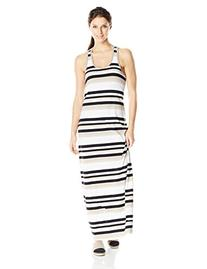 LOLE Women's Sarah Dress, Small, Black Multi-Stripes