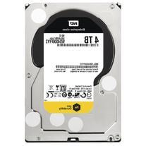 Western Digital 4TB 3.5 Inch SATA III, 7200 RPM, 64 MB Cache