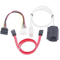 SATA/PATA/IDE Drive to USB 2.0 Adapter Converter Cable for 2