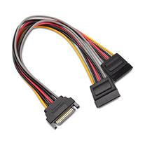 Cable Matters  15 Pin SATA Power Y-Splitter Cable 8 Inches