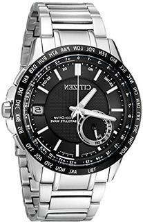 Men's Citizen Eco-Drive Satellite Wave World Time GPS Watch