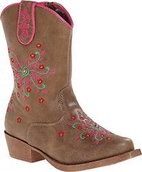 Blazin Roxx Girls' Savvy Embroidered Zipper Cowgirl Boot