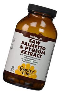 Country Life Saw Palmetto and Pygeum Extract, 180-Count