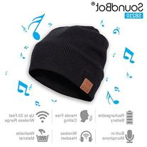 Soundbot SB210 HD Stereo Bluetooth 4.1 Wireless Smart Beanie
