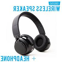 SoundBot SB250 Stereo Bluetooth Wireless Speaker Headphone,