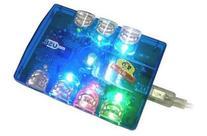 SBT-UHPA  USB 2.0 High Speed External Seven Port Mini Hub w