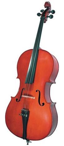 Cremona SC-100 Premier Novice Cello Outfit - 1/4 Size