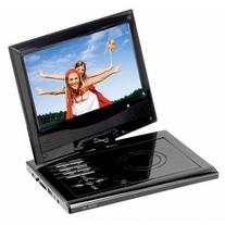 """Supersonic SC-178DVD 7"""" Portable DVD Player with USB, SD"""