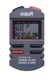 Robic SC-848W 300 Memory Stopwatch with Speed Timer