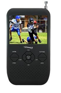 """Supersonic SC-335 3.5"""" Portable TFT LCD TV with FM Radio and"""