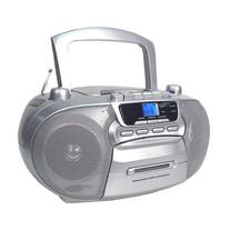 Supersonic SC-727 Portable CD Player with Cassette/Recorder