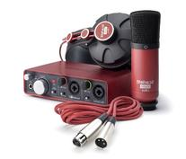 Focusrite Scarlett 2i2 Studio  Audio Interface and Recording