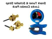 SNARK & SCHALLER Dexlue Tuner and Strap Lock Combo Pack