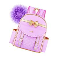 EURO SKY Children School Backpack Bags for Girls Students PU