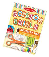 Melissa & Doug Scissor Skills Activity Book With Pair of