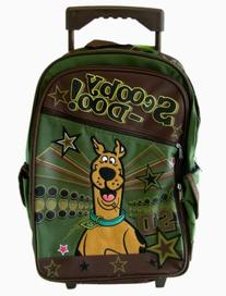 Scooby Doo Large Full Size Rolling Backpack with Wheels