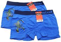 2 Piece Blue Colored Scorpion Boxer Briefs by Knocker