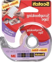 "3m 002 1/2"" X 300"" Double-Sided Scotch® Scrapbooking Tape"