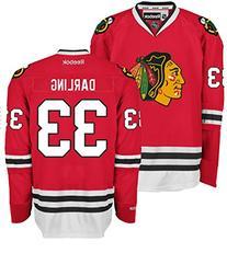 Scott Darling Chicago Blackhawks Home Red Premier Jersey by