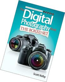 Scott Kelby's Digital Photography Boxed Set, Parts 1, 2, 3,