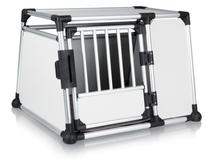 TRIXIE Pet Products Scratch-Resistant Metallic Crate, X-