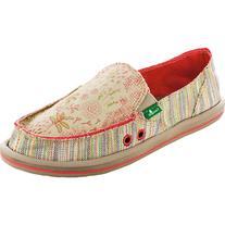 Sanuk Scribble Shoe - Women's Tropical, 9.0