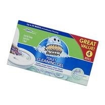 Scrubbing Bubbles Glade Rainshower Toilet Cleaning Gel, 4
