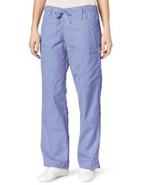 WonderWink Women's Scrubs  Cargo Pant, Ceil Blue, 3X-Large