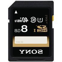 Sony 8GB SDHC/SDXC Class 10 UHS-1 R40 Memory Card