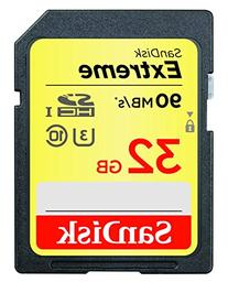 SanDisk Extreme 32GB SDHC UHS-I Card