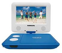 Sylvania SDVD7043-BLWHT 7-Inch Portable DVD Player with