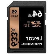 Lexar Professional 64 GB SDXC - Class 10/UHS-I  - 95 MB/s