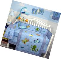 SoHo Sea Life Baby Crib Nursery Bedding Set 13 pcs included