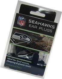 Seahawks Earplugs 6 Pair 3 Pack