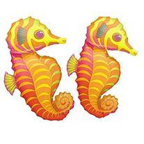 "Seahorse Shaped 35"" Mylar Balloon"
