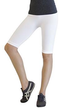 D&K Monarchy Women's Seamless Knee Length Capri Tights,