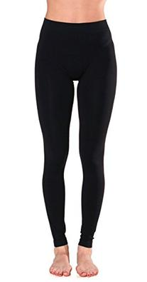 Sofra Women's Full Ankle Length Seamless Leggings